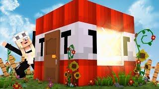 Echtes TNT Haus in Minecraft bauen! (Challenge)
