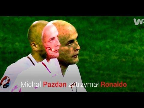 Michał Pazdan zatrzymał Ronaldo - Polska oszalała.