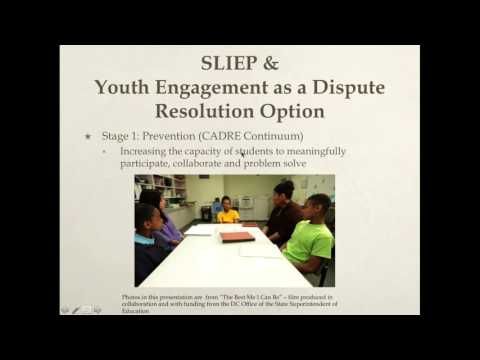 CADRE Webinar-Creating Change: Student Led IEPs as Dispute R