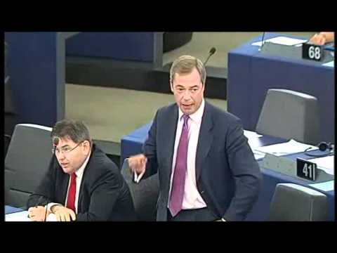 Nigel Farage: Greece under Commission-ECB-IMF Dictatorship