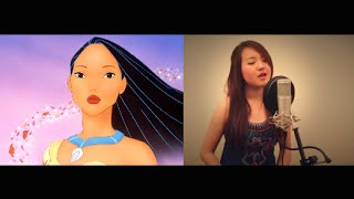 Repeat youtube video Colors of the Wind from Pocahontas - COVER by Grace Lee (Movie Version)