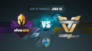 CBLoL 2019: Vivo Keyd x Team oNe (Jogo 1) | Série de Promoção - 1ª Etapa