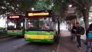 新時代巴士 宇通ZK6128HGE 12米大巴(5038)@ MT2 城市日前地 ~ 澳門機場【前面展望】