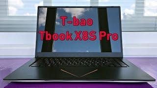 Обзор T-bao Tbook X8S Pro - недорогой ноутбук c дискретной видеокартой для работы и развлечений