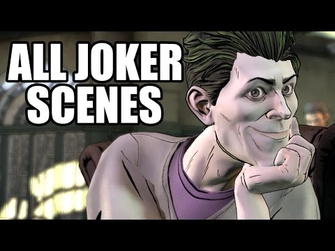 Thumbnail: BATMAN The Telltale Series - All The Joker Scenes