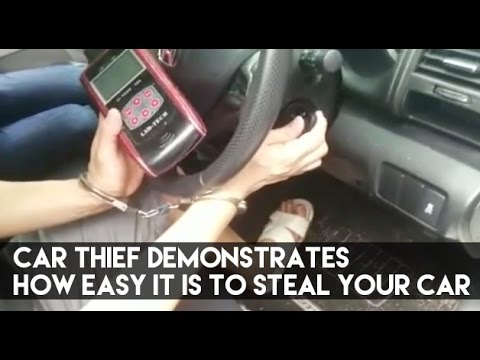 Car Thief Demonstrates How Easy It Is To Steal Your Car