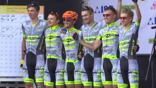 Телеканал ВІТА новини 2016-06-06 Як учасники міжнародної велогонки долали 140 км вінницької траси