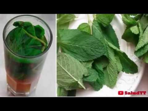 Deja tu hígado como nuevo con un solo vaso de esta receta a base de hierbabuena