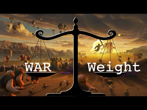 Clash of Clans: How to Check Your War Weight 2017!!!
