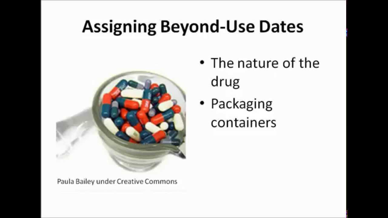 Beyond use dating non sterile compounding