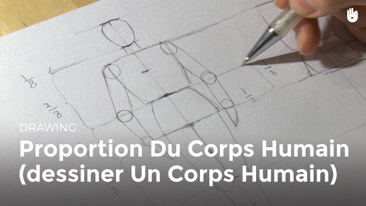 Dessin Dessiner Un Corps Humain Hd