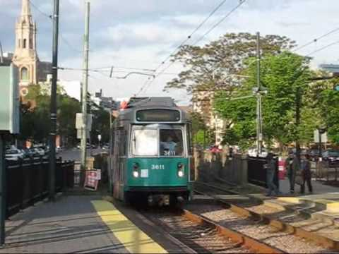 Green Line Trolleys at St Mary's Station