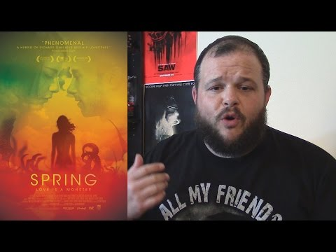 Spring (2014) movie review Horror Romance Sci-Fi