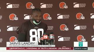 Jarvis Landry's Approach To Browns Training Camp This Year - Sports 4 CLE, 7/28/21