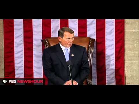 John Boehner Sworn in as Speaker of the U.S. House of Representatives