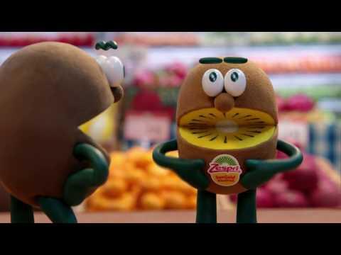 ゼスプリ キウイ TVCM 2017 #01「甘さも、栄養も、たっぷり!」ゼスプリのシールは篇