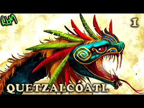 All About : QUETZALCOATL  KUKULKAN PART 1 of 2  Aztec  Mayan God : Gods and Godesses