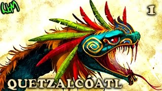 All About : QUETZALCOATL / KUKULKAN (PART 1 of 2) - Aztec / Mayan God : Gods and Godesses
