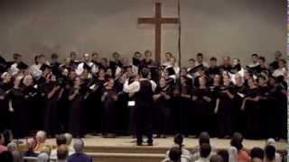 "Oasis Chorale & Minerva Coummunity Choir - ""When Peace Like A River"" - Bliss, arr. Kauffman"
