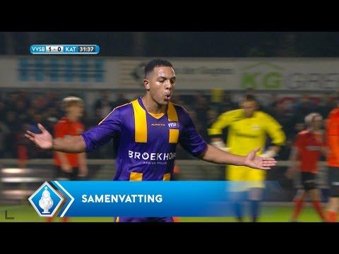 Highlights KNVB Beker: VVSB - Katwijk (25/10/2016)