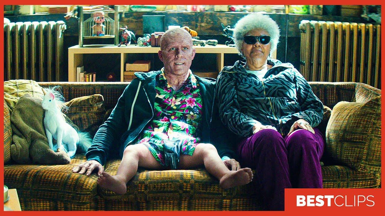 Deadpool Baby Legs Scene | Deadpool 2 (2018) Movie CLIP 4K