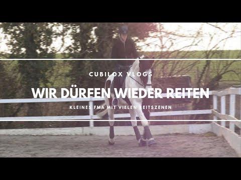 kleines FMA - wir dürfen wieder REITEN 💕🙏🏾 | Cubilox Vlogs