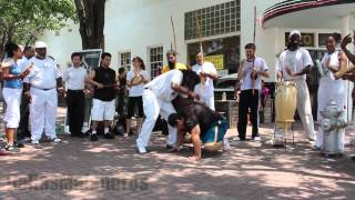 Dallas Capoeira Open Roda - Dallas Farmer's Market - July 7 2012