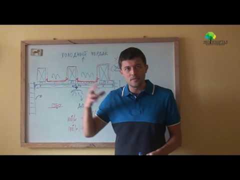 видео: Потолок без пароизоляции!?  - Что делать и чего делать НЕ надо.