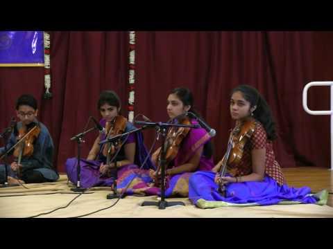 Srishti-2016 --  'Lalgudi Samarpanam' by students of Sri Vittal Ramamurthy