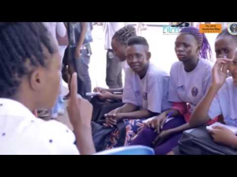 Kamwokya youth for film project