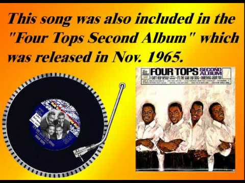 The Four Tops  Its The Same Old Song June 1965