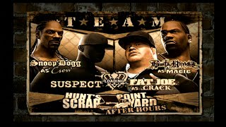 Def Jam Fight For NY (Request) - Team Match at Scrapyard After Hours (Hard)