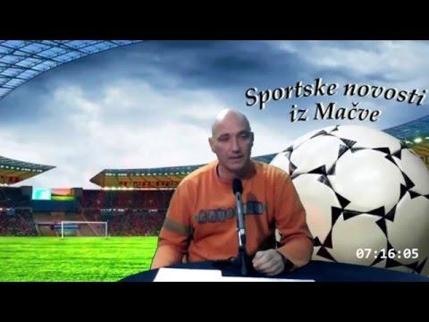 Sportske novosti iz Mačve-Radio Nešvil 02.05.2016