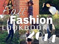 Fall Fashion Lookbook 2014- tumblr inspired!