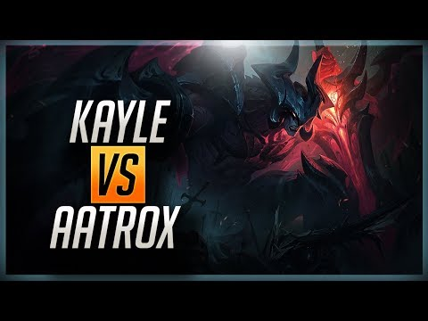 FOLLOWER PICKS MY ITEMS?! HOW TO PLAY KAYLE VS AATROX  - League of Legends
