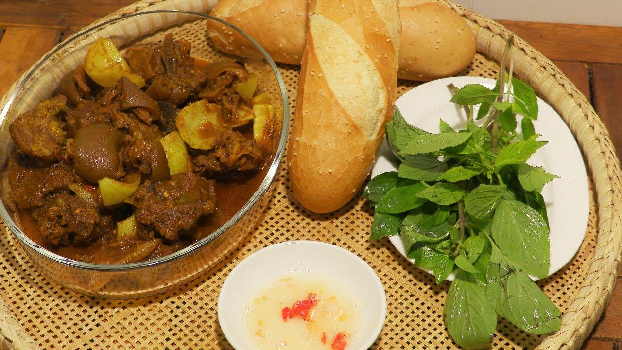 ✅ Cách Nấu Cà Ri Dê kiểu Ấn Độ… CÀ RI CHÀ Curry Goat Vietnamese food