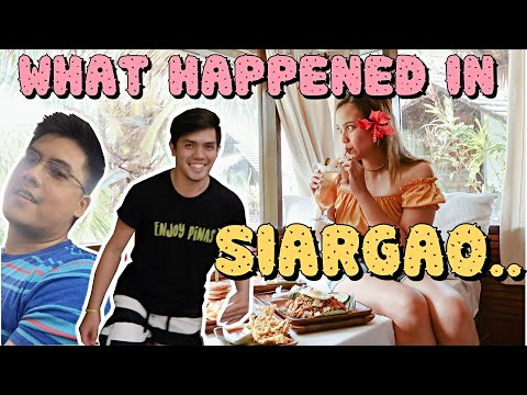 What really happened in Siargao...