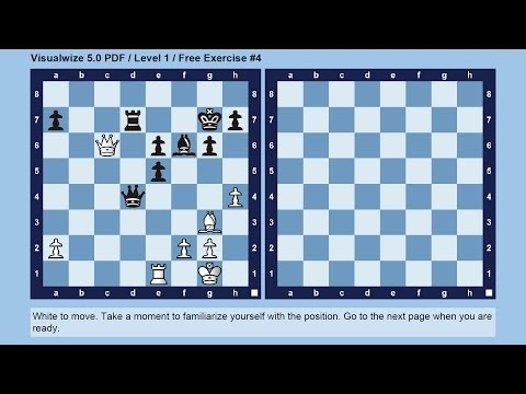 How to improve your chess visualization skill with the VISUALWIZE training method