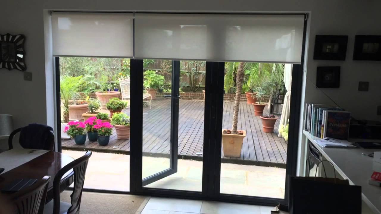 Electric Blinds For Bi Fold Doors Youtube