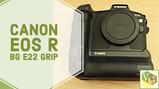 canon EOS R Battery Grip review : BG-E22