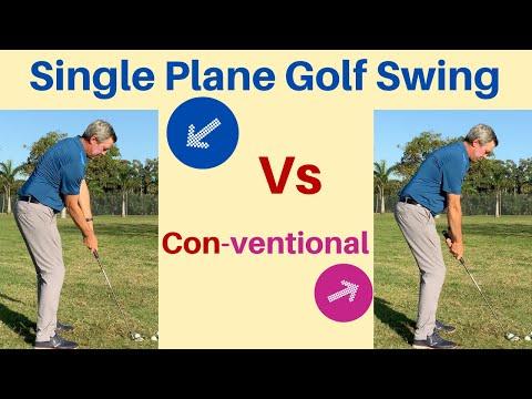 Single Plane Golf swing vs Conventional