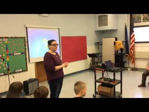 Long Lake Central School elementary talent show