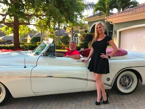 SOLD 1953 Buick Skylark Roadmaster, Owned By Coach Mike Ditka For Sale By Autohaus Of Naples