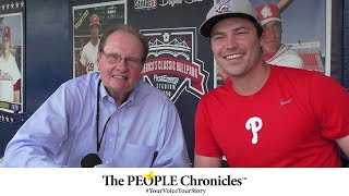 Talking Sport and Fitness with Zeke | Meet Tommy Bergjans from Reading Fightin Phils