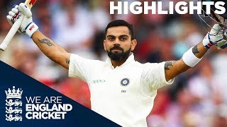 Kohli's Century Sees India Take Control | England v India 3rd Test Day 3 2018 - Highlights
