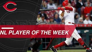 Joey Votto named the NL Player of the Week