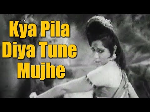 Kya Pila Diya Tune Mujhe - Old Hindi Dance Song | Helen | Asha Bhosle | Sau Saal Beet Gaye