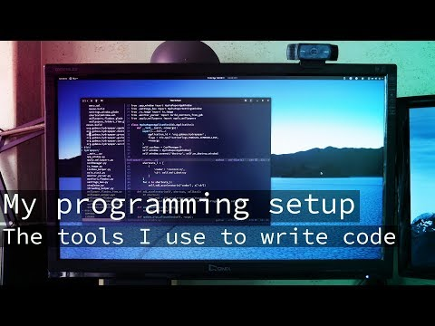 My programming setup - The tools I use to write code