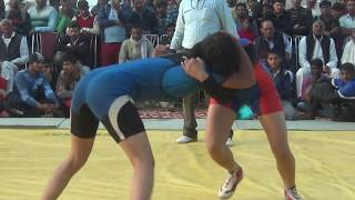 Girls Wrestling Bout: Srishti Vs Sonia