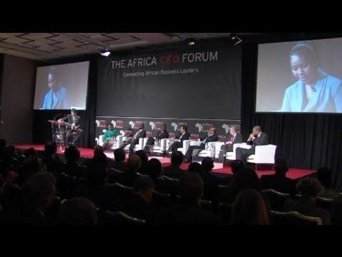 Africa's top business leaders in talks in Geneva